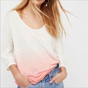 We The Free Free People Ombré Shirt XS